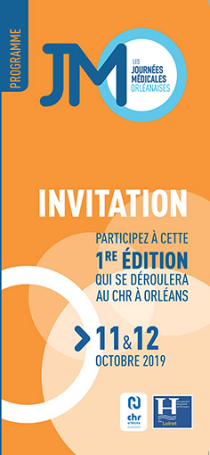 couverture de l'invitation programme